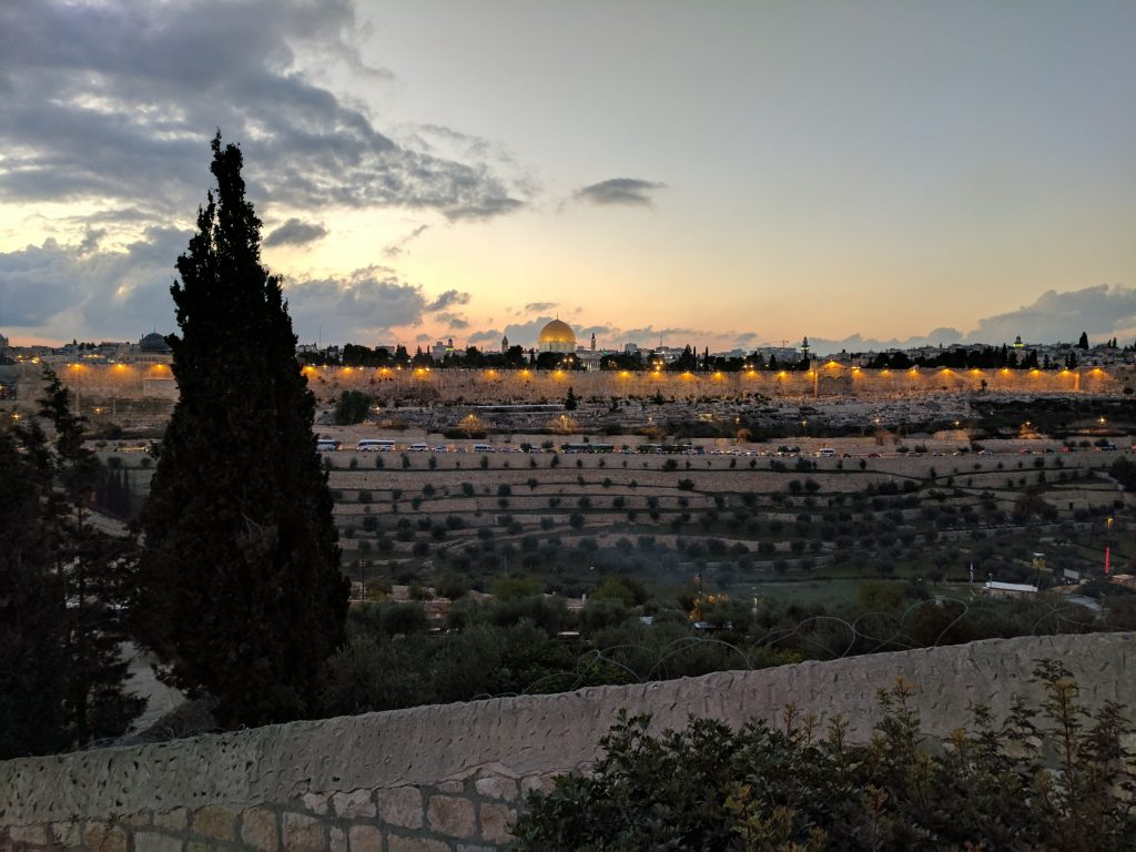 Jerusalem In The Evening